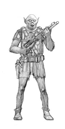 Early Ralph McQuarrie Sketch of Chewbacca